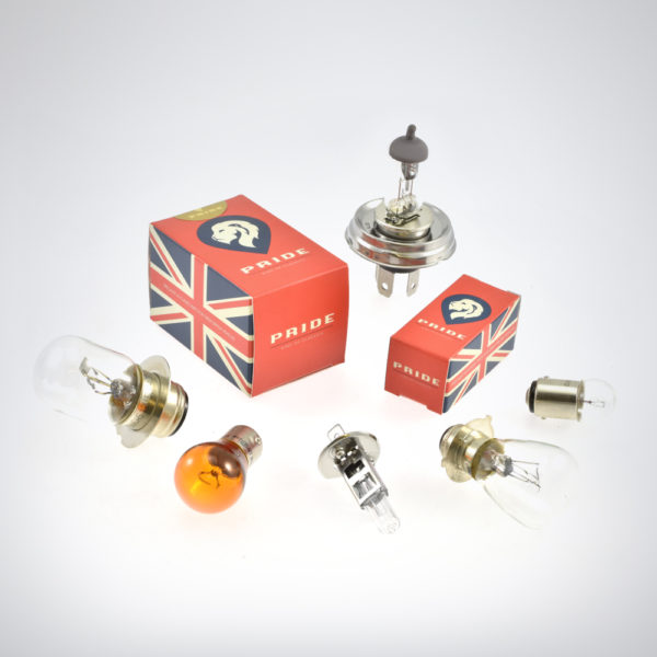 Pride classic car and motorcycle bulbs