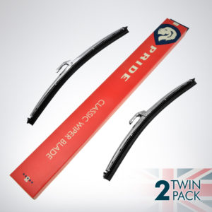 EP9002 10 inch 6mm classic wipers twin pack